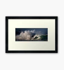 Winter Waves At Waimea Bay 4 Framed Print