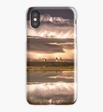summer storm over newcastle baths iPhone Case/Skin