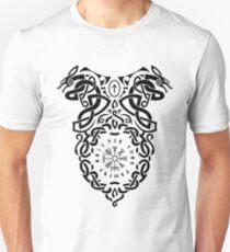 Vegvisir Knoten / Wikinger / Vikings / Schwarz T-Shirt