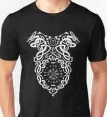 Vegvisir Knoten / Wikinger / Vikings / Weiß Unisex T-Shirt