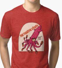 THE FIGHTING SQUIDS Tri-blend T-Shirt