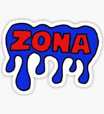 UArizona Bubble Sticker