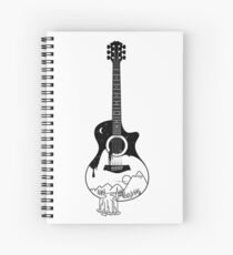 The intriguing sounds of nature Spiral Notebook