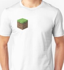 Minecraft Grass Block Unisex T-Shirt