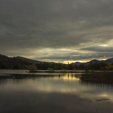 Lake Selmac Dawn by evensteven