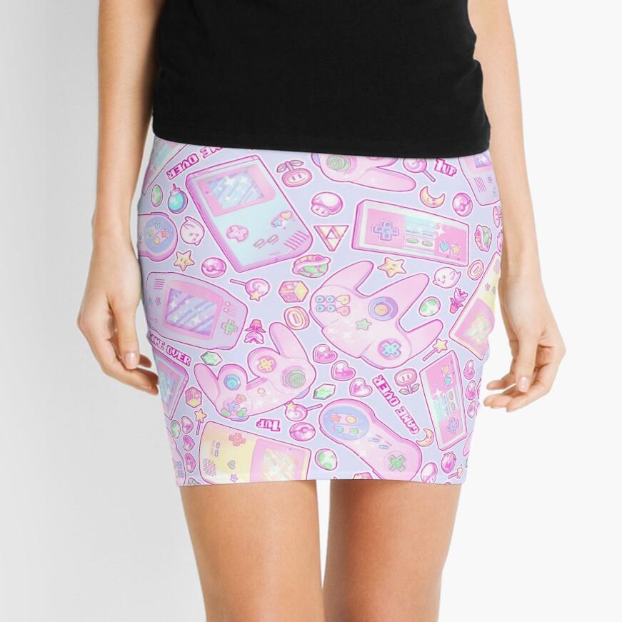 Power Up! Mini Skirt