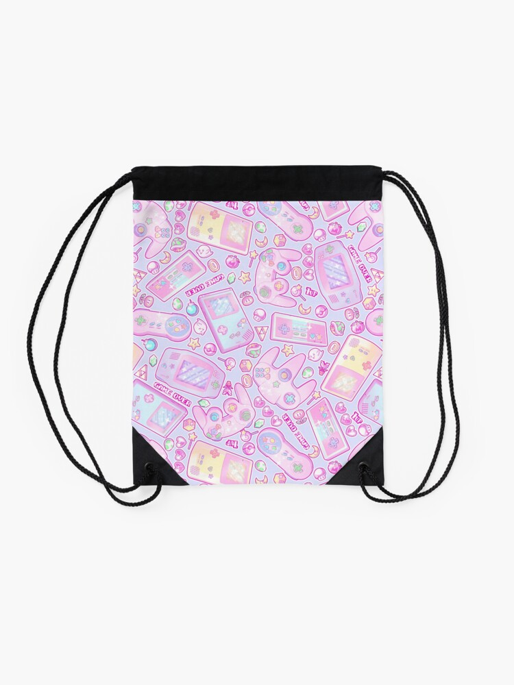 Alternate view of Power Up! Drawstring Bag