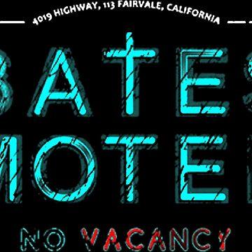 Bates Motel Light Logo by thomaspalevi