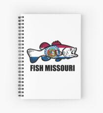 Fish Missouri Spiral Notebook