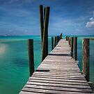 Bahamas, Rum Cay Marina Jetty by Jola Martysz
