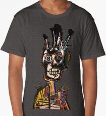 Basquiat African Skull Man Long T-Shirt