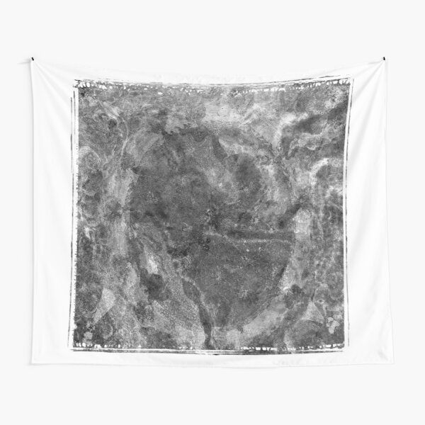 The Atlas of Dreams - Plate 24 (b&w) Tapestry