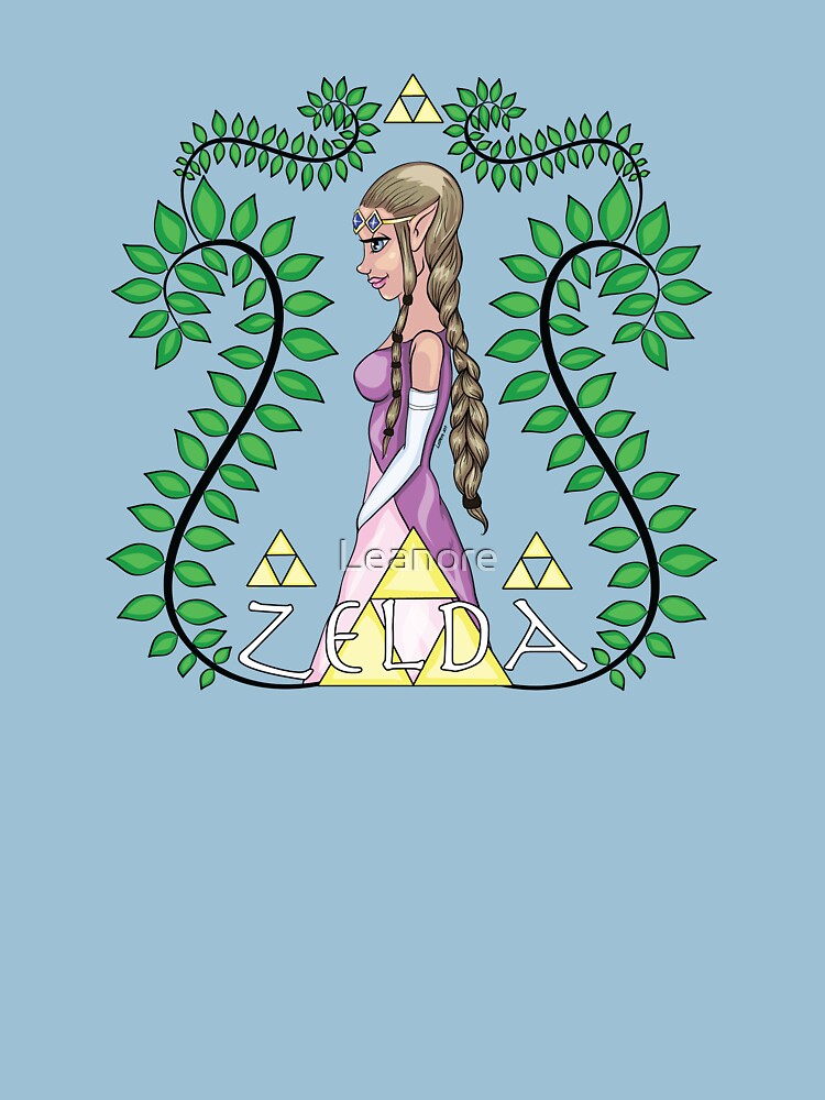 Zelda, Princess of Hyrule by Leanore