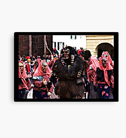 The Devil and his brides I Canvas Print