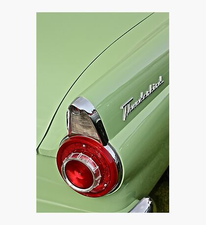 1956 Ford Thunderbird Taillight Photographic Print