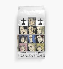 Kingdom hearts II Organization 13 (color) Duvet Cover