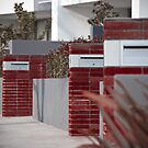 Letterboxes by palmerphoto