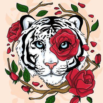 White Tiger by lunaticpark