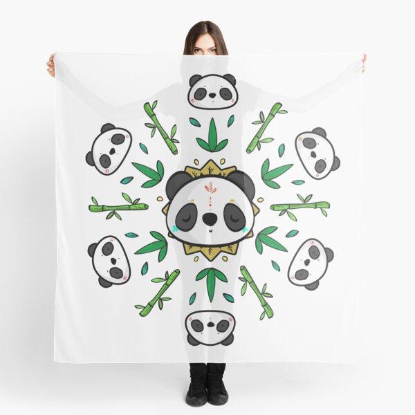 Pandala - Mandala Panda Scarf