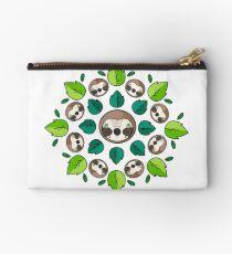 Mandala Sloth Studio Pouch