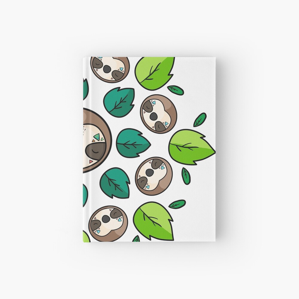 Mandala Sloth Hardcover Journal