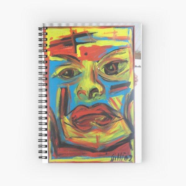 La Comedienne Triste Spiral Notebook