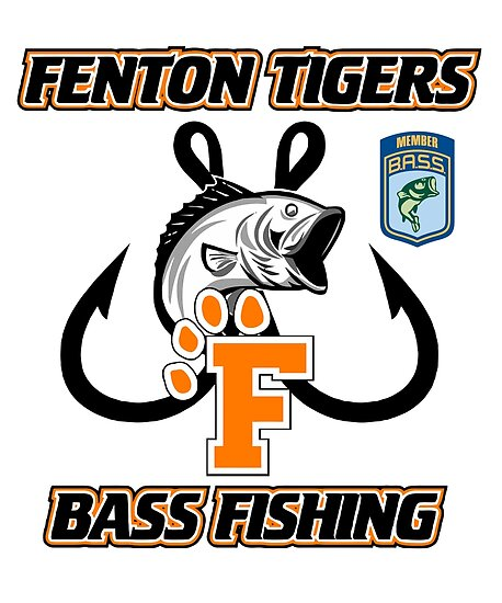 Fenton Tigers - Bass Fishing SWAG by FentonFishing