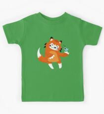 the fox and the bird Kids Clothes
