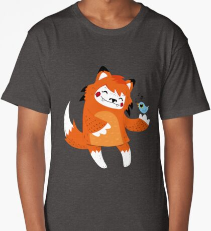 the fox and the bird Long T-Shirt