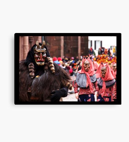 The Devil and his brides II Canvas Print