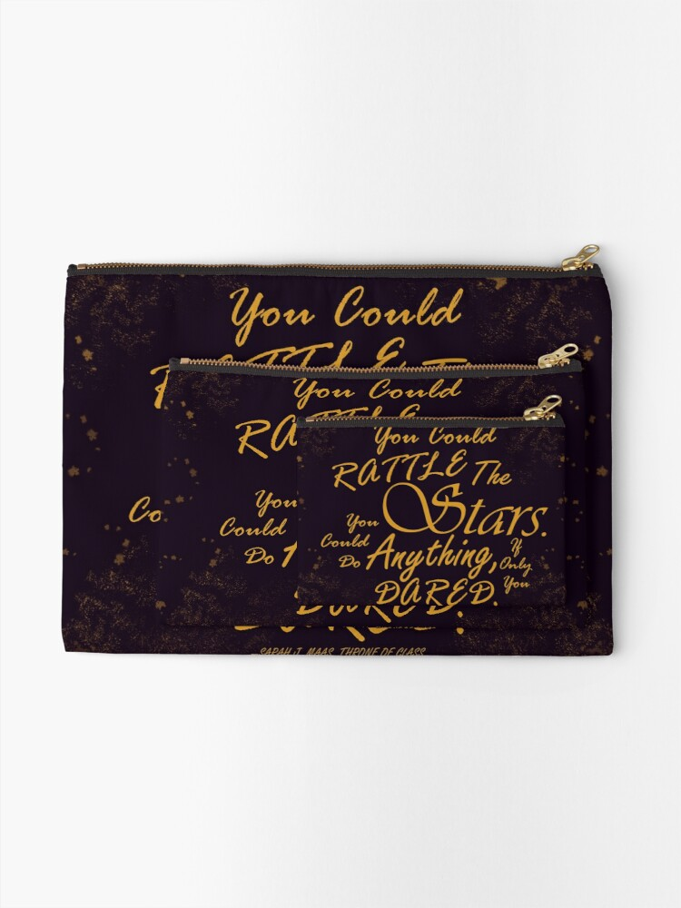 Alternate view of Rattle The Stars Zipper Pouch