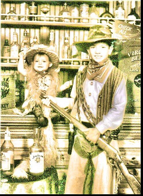 Cowboy Bas & Dolly Tori by shiloh9