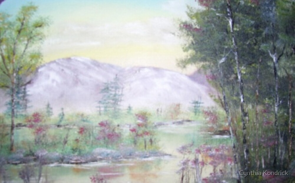 Early Fall In The Mountains by Cynthia Kondrick