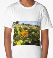 One yellow flower  Long T-Shirt