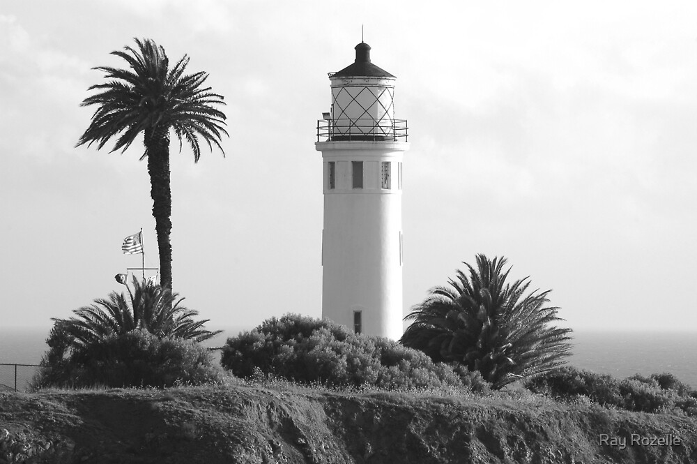 Point Vincent Lighthouse  by Ray Rozelle