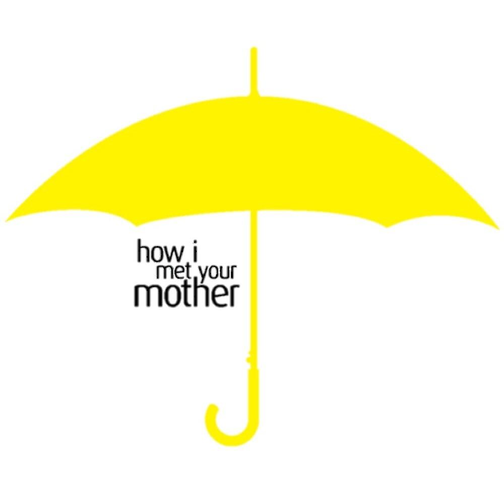 HIMYM Umbrella by sydneyberman