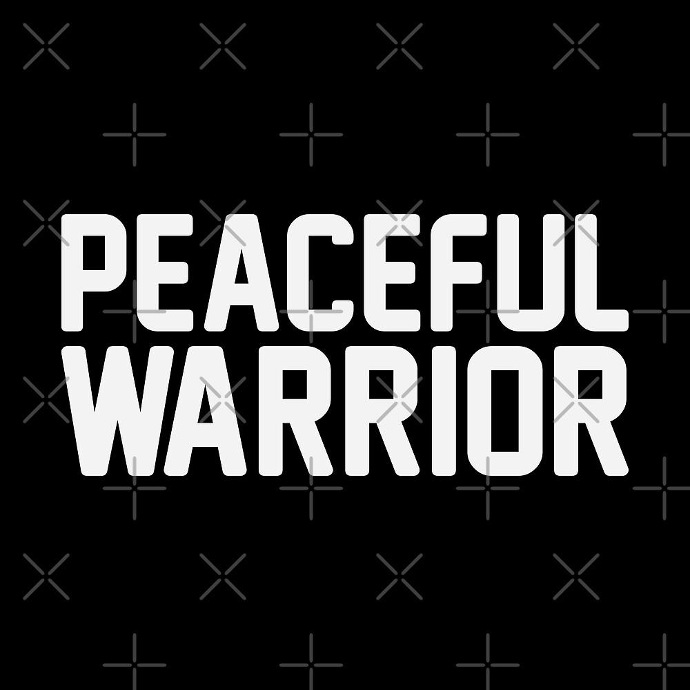 Peaceful Warrior by DJBALOGH