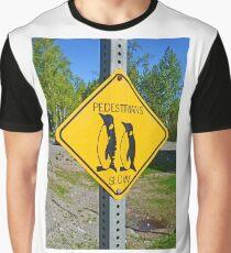 Slow Pedestrians Graphic T-Shirt