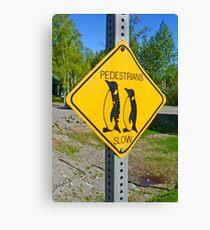 Slow Pedestrians Canvas Print