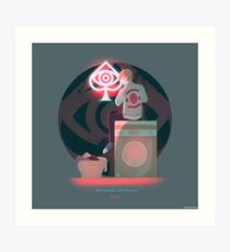 Dirty Laundry (All Time Low) Art Print
