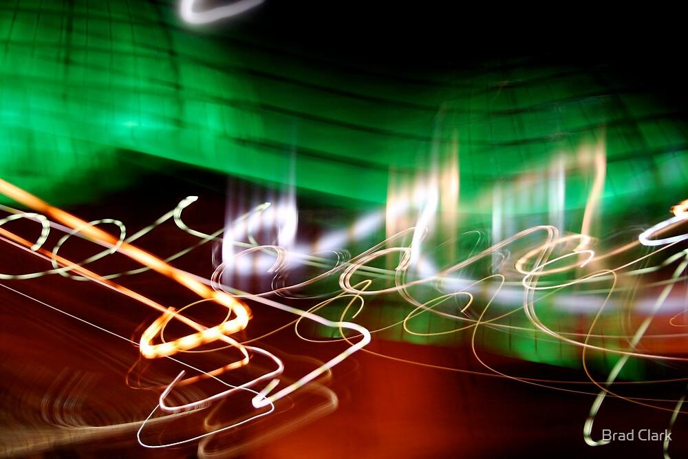 Lighted Arcs 2 by Brad Clark