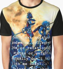Kingdom Hearts shirt  funny quote Graphic T-Shirt