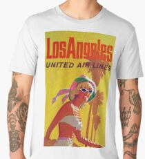 Los Angeles United Air Lines Men's Premium T-Shirt