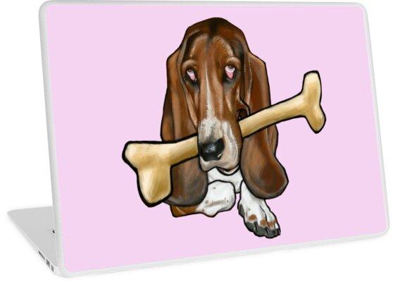Sad Dog - with Bone by arievanderwyst