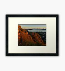 Townsville at sunrise Framed Print