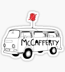 McCafferty Trailer Trash Sticker