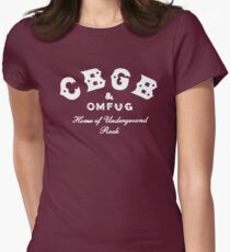 CBGB Omfug Womens Fitted T-Shirt