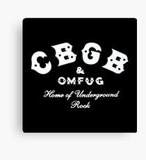 CBGB Omfug Canvas Print