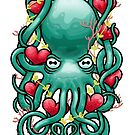 Octupus and Hearts by erdavid