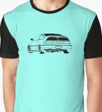 honda crx blue Graphic T-Shirt